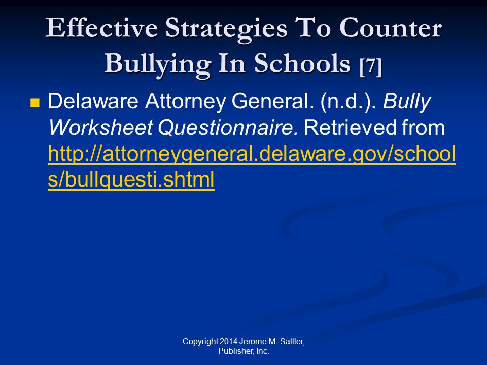 Effective Strategies To Counter Bullying In Schools [7]